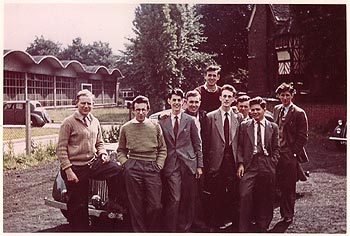 Kingston Technical College students, 1956