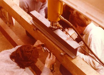 Kingston Polytechnic lab, 1978