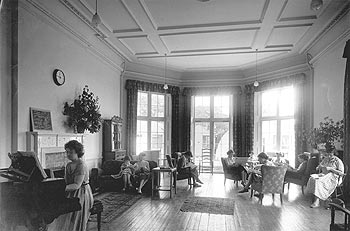 Kenry House common room, c.1950