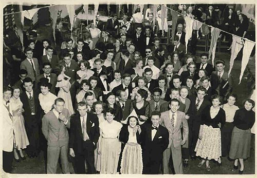 Kingston Technical College dance, 31 January 1953