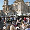 Kingston's busy marketplace
