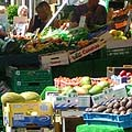 Fresh fruit and vegetables at the market