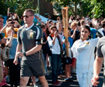 Torch Relay in pictures