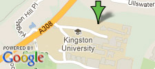 View Kingston Business School and Penrhyn Road on our Google Maps