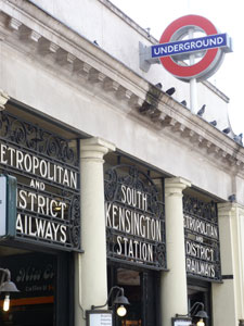 London Underground marked its 150th birthday on January 9 2013. Pic: South Kensington station
