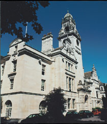 Photo of County Hall.