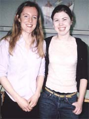 Photo of Emma Sherman-James and Susanna Leitch