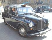 Photo of a London cab