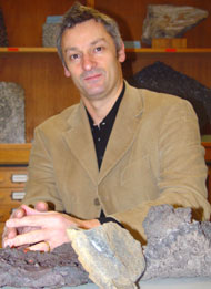 Photo of Professor Nick Petford.