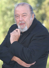 Photo of Sir Peter Hall.