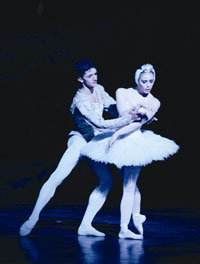 Audiences were spellbound by Vladislav Bubnov's performances in the Bolshoi Ballet company's production of Swan Lake
