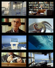 Stills from Outlandish: Strange Foreign Bodies by Kingston University's Phillip Warnell, featuring Jean-Luc Nancy (pictured), which will be premiered at FID Marseille in July.