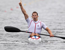 Olympic medallist Ed McKeever was a member of the sports performance programme when he studied at Kigston University.