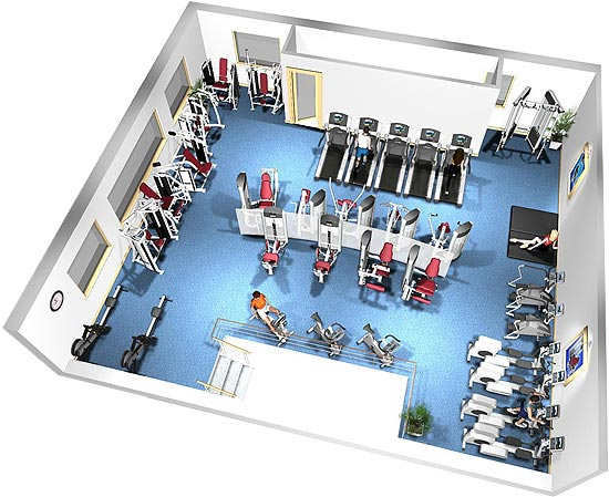 Fitness floor plans house home designs
