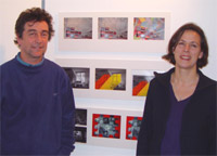 Photo of Angela Rogers and Richard Keating