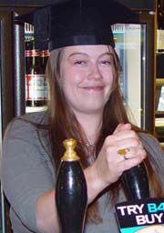 Photo of Law graduate Amy Croft