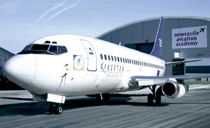 Photo of Boeing 737 at Newcastle Aviation Academy.