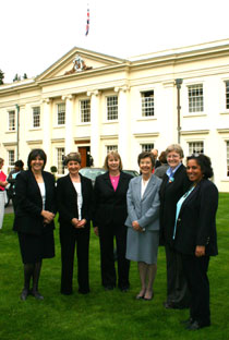 Photo of staff at the launch of the Master in Human Resource Strategy and Change.