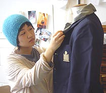 Photo of Kingston Fashion student.