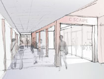 An architect's impression of how C-SCAIPE will look.