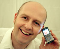 Kingston University's Enterprise Exchange helped Andy Griffin get his Quitmate device off the ground