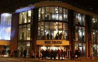 Theatre-goers flock to the Kingston University gala night.