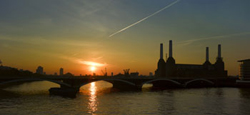 Image of Battersea Power Station from Richard Bryant's London.  Photograph by Richard Bryant/Arcaid
